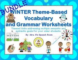 98 best winter speech therapy images on pinterest speech therapy