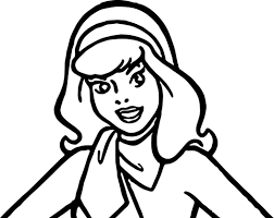 daphne scooby doo make up coloring page wecoloringpage