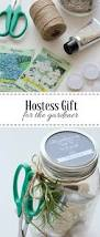 Inexpensive Hostess Gifts Easy Garden Themed Hostess Gift With Jar Printable Satori Design