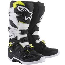 motocross madness windows 7 alpinestars tech 7 motocross boot in black white demon tweeks