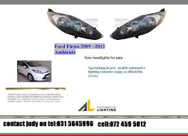 headlights for sale ford ambiente 2009 to 2012 headlights for sale price