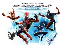 web threads suit pack u0027 dlc released for the amazing spider man 2