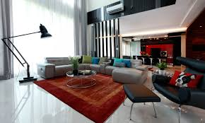 Quirky Modern Modern Bungalow Interior Living Room  Aprar - Bungalow living room design