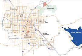 Lake Mead Map Las Vegas Area Map Map Of Las Vegas Area United States Of America