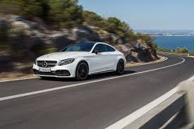 mercedes amg c class mercedes c class coupe hits the meet 2016 s amg c63 by
