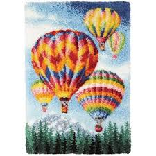 craftways air balloons latch hook