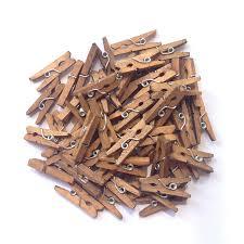 amazon com lwr crafts wooden mini clothespins 100 per pack 1