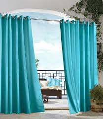 Outdoor Gazebo With Curtains by Outdoor Gazebo Solid Grommet Top Outdoor Curtain 12 Colors By