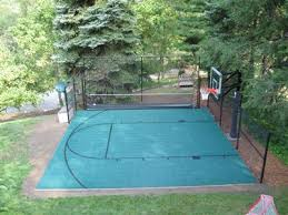 Half Court Basketball Dimensions For A Backyard by Backyard Backyard Basketball Court Size Inspiring Garden And