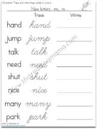 how to write i in cursive cursive writing worksheet back to the index enchanted learning