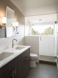 Titles For Bathroom by White Subway Tile Bathroom Ideas Houzz