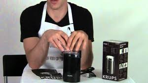 Coffee Blade Grinder Closed Giveaway U0026 Review Krups Electric Spice And Coffee Grinder