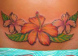 hawaiian flower lower stomach tattoos for insigniatattoo com