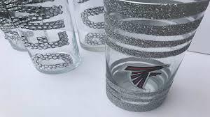 easy diy crafts atlanta falcons candle holder idea youtube