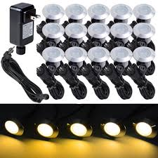 Led Bulbs For Outdoor Lighting by 15pcs Led Bulbs Deck Light Garden Stair Yard Mall Outdoor