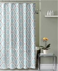 amazon com light aqua grey white embossed fabric shower curtain amazon com light aqua grey white embossed fabric shower curtain moroccan design home kitchen