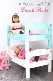 Bunk Bed For Dolls Diy American Doll Bunk Beds