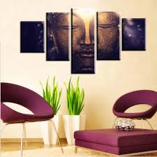 Myanmar Home Decoration by Online Buy Wholesale Large Buddha Canvas From China Large Buddha