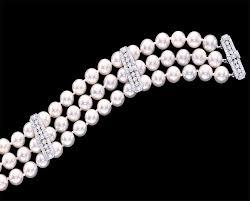 diamond studded diamond studded pearl bracelet pearl clasp