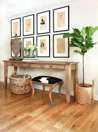 Entryway Table With Baskets Entryway Table With Storage Baskets Chic Foyer Features A Basket