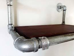 Galvanized Pipe Shelving by 19 Best Estantes Images On Pinterest Galvanized Pipe Shelves
