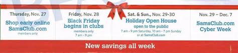 sam s club black friday ad leak discounted itunes play