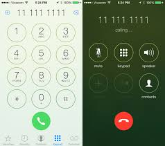call dialer apk notice how the icons change with a smooth animation when you try