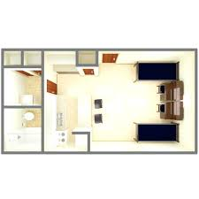 garage studio apartment plans decoration efficiency apartment floor plan ideas one bedroom