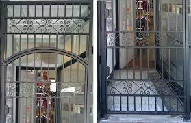 Overhead Security Door Metal Security Front Door Gates Whitneytaylorbooks