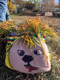 Tree Faces Garden Art Scarecrows Arrive At Bes
