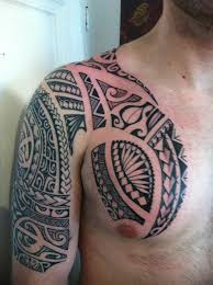 polynesian chest for