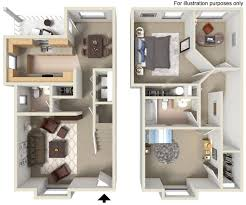 two story apartment floor plans st germain the village