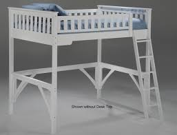 night and day full loft bed white kids bedroom furniture night