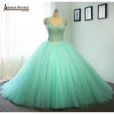 green wedding dress high quality customer order mint green wedding dress gown