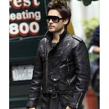 biker jacket racing biker jacket jared leto leather jacket