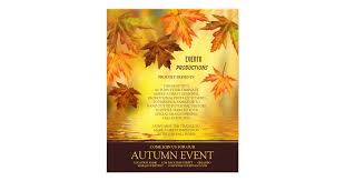 fall festival or thanksgiving flyer template zazzle