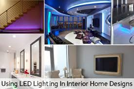 led home interior lighting using led lighting in interior home designs jpg