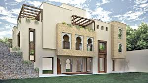 Home Design For 100 Sq Yard Moroccan Style Residence By Adil Yusaf Associates U2013 1 Kanal House