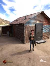 post apocalyptic shelter 3d models and 3d software by daz 3d