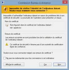 connexion bureau a distance mac poste sous windows accéder au serveur d applications
