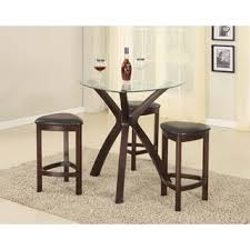 Triangle Dining Table With Bench Bar U0026 Pub Table Sets For Less Overstock Com