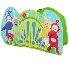 buy pop teletubbies play tent argos uk shop