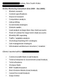 Resume Dos And Donts Looking For An Seo Job Resume Do U0027s And Don U0027ts Promediacorp