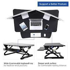 Computer Desk Posture Flexispot M3b Standing Desk 47 Wide Platform Stand