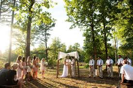 small wedding ceremony real weddings adrianne richard s handmade country wedding