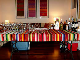 home decorating parties interior design mexican themed dinner party decorations