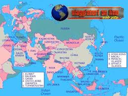africa e asia mappa geografica asia
