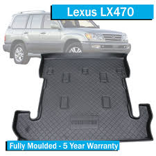 lexus 5 year warranty lexus lx470 1999 2007 boot liner cargo mat with 3rd row