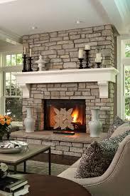 fireplace mantel decor ideas home christmas lights decoration