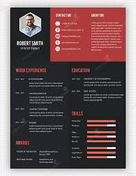 minimalist resume template indesign gratuit macaulay honors application 45 best resume formats images on pinterest resume curriculum